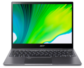 Acer Convertible Laptop - Spin 5   SP513-55N-53Q7 (Steel Grey)