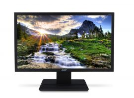 Acer 49.53 cm (19.5-inch) HD LED Backlit Computer Monitor with HDMI, VGA Ports and Stereo Speakers - V206HQL (Black)