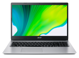 [BUNDLE SALES] Acer Consumer Laptop - Aspire 3 | A315-23-R133 (Pure Silver) and Jabra Evolve 20 MS Stereo [4999-823-109]