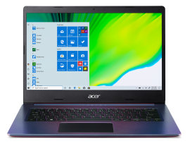 Acer Aspire 5 in Magic Purple colour (10th Gen Core i3/32GB Intel Optane Memory/512GB SSD) | A514-53
