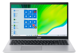Acer Aspire 5 Thin and light laptop intel core i3 11th gen ( 4GB/256 GB SSD/ Windows 10 home/MS Office) A515-56 With 39.6 cm (15.6 inch)  FHD display / 1.65 kgs