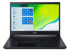 Acer Aspire 7 gaming laptop AMD Ryzen 5-3550H - ( 8 GB/512 GB SSD/Nvidia GTX 1650 Ti/ Windows 10 home/60hz) A715-41G with 39.6 cm (15.6 inches) FHD display / 2.15 Kgs
