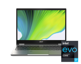 Acer Convertible Laptop - Spin 3   SP313-51N-714D (Pure Silver)