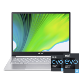 Acer Swift 3 Thin and Light laptop Intel Core i5 11th gen - ( 8 GB/ 512 GB SSD/ Windows 10 home/ MS Office/ Iris Xe graphic) SF313-53-532J with 34.29 cm (13.5 inch) FHD display / 1.19 kg