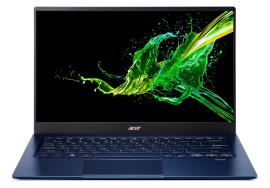 Acer Swift Light Weight Laptop - Swift 5| SF514-54T-52AS (Charcoal Blue)