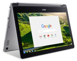 Acer Recertified Chromebook R 13  Convertible Laptop (Chrome OS/Quad-Core ARM processor/33.7cm FHD screen/12hrs battery back-up)