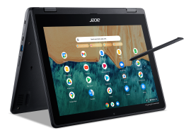 "Acer Spin R852TN-P44X Convertible Chromebook | Intel Pentium / 12"" HD+ Touch / 8GB / 64GB eMMC"