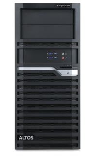Workstation | Altos BrainSphere™ P330 F4 | W-2123 (with 32GB RAM and 2TB HDD)