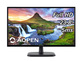 Acer Monitor - Consumer Series - Work & Casual Game | Acer Aopen 24CV1Y