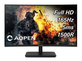 "Acer Monitor - Curved Series - Gaming Freesync Monitor |Acer AOpen 27HC5RP 27"" Curved 165Hz Gaming Monitor"