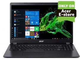 "Acer Aspire 3 laptop intel core i3 10th Gen ( 8GB/1 TB HDD/256 GB SSD/ Windows 10 home/MS Office H&S 2019) A315-56-323J with 39.6cm (15.6"") FHD display /1.9kgs"