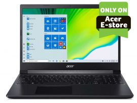 Acer Aspire 7 gaming laptop AMD Ryzen 5-3550H - ( 16 GB/512 GB SSD/Nvidia GTX 1650 Ti/ Windows 10 home/60hz) A715-41G with 39.6 cm (15.6 inches) FHD display / 2.15 Kgs