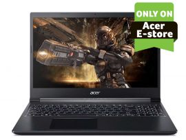 Acer Aspire 7 gaming laptop Intel core i5 9th Gen - (16 GB/512 GB SSD/Nvidia GTX 1650Ti/ Windows 10 home/60hz) A715-75G with 39.6 cm (15.6 inches) FHD display / 2.15 Kgs