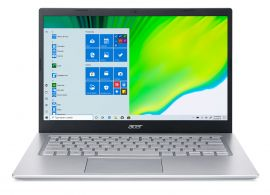 Acer Aspire 5 Thin and light laptop intel core i5 11th gen ( 8GB/512 GB SSD/ Windows 10 home/Nvidia GeForce MX350) A515-54G With 35.5 cm (14 inch) with FHD display / 1.45 kgs