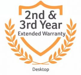 Extended 2nd And 3rd Year Warranty (Desktop)