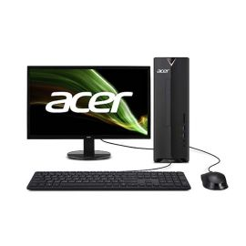 Acer Consumer Desktop | Aspire XC Series - XC830-5040W10A Bundle with Acer Monitor K242HYLH