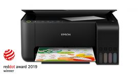 Epson EcoTank L3150 Wi-Fi All-in-One Ink Tank Printer - Black ((LIMITED STOCK))