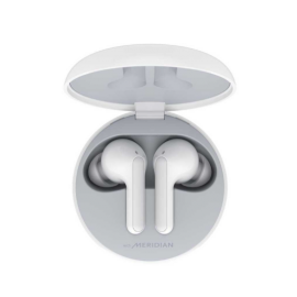 LG TONE Free HBS-FN4 Wireless Stereo Earbuds with Meridian Technology (White)