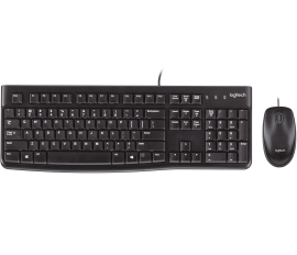 Logitech MK120 Wired Desktop (Keyboard and Mouse)