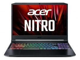 Acer Nitro 5 gaming laptop AMD Ryzen 5-5600H - (8GB/1 TB HDD/256 GB SSD/Nvidia GTX 1650/ Windows 10 home/144hz) AN515 with 39.6 cm (15.6 inches) FHD display / 2.4 Kgs
