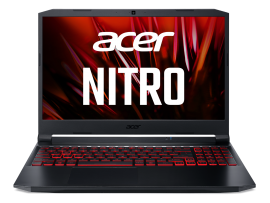 Acer Nitro 5 gaming laptop Intel core i5 11th Gen (16 GB/256 GB SSD /1 TB HDD/NVIDIA® GeForce® RTX 3050/ Windows 10 Home/144hz) AN515 with 39.6 cm (15.6 inches) IPS display / 2.4 Kgs