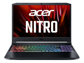 Acer Nitro 5 gaming laptop Intel core i7 11th Gen (8 GB/256 GB SSD/1TB HDD/Nvidia RTX 3050/ Windows 10 Home/144hz) AN515 with 39.6 cm (15.6 inches) IPS display / 2.4 Kgs