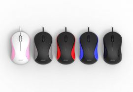 Acer Wired Mouse AMW913 | Pink-White