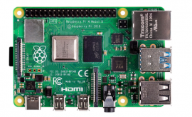 Raspberry Pi 4B 4GB Desktop Kit (UK Plug)