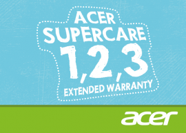 Acer SuperCare 1 (Upgrade to 3 Years On-Site Warranty (local), includes Accidental Damage & Theft (local))