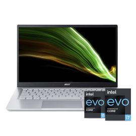 Acer Swift Light Weight Laptop - Swift 3 | SF314-511-51YL (Pure Silver)