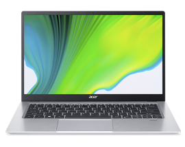 Acer Consumer Laptop - Swift 1 | SF114-34-P593 (Pure Silver)