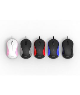 Acer Wired Mouse AMW913 (Pink-White)