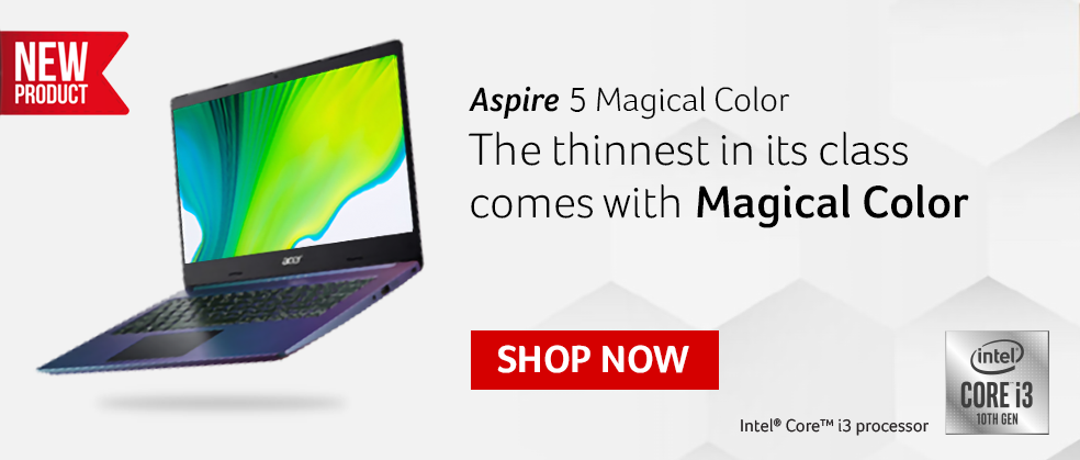Aspire 5 Magical Color